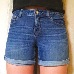 Gap Kids Midi Jean Shorts
